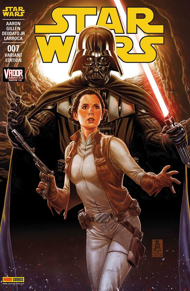 Star Wars 7 - Couverture 2/2 (Mark Brooks – tirage 50%)