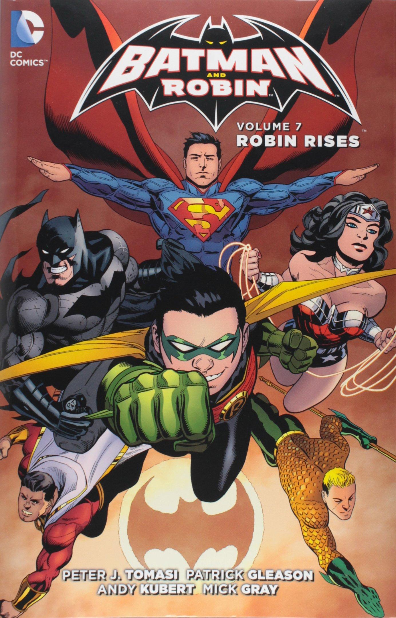 Batman & Robin 7 - Robin Rises