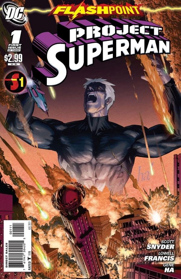 Flashpoint - Project Superman 1 - The Hero's Road