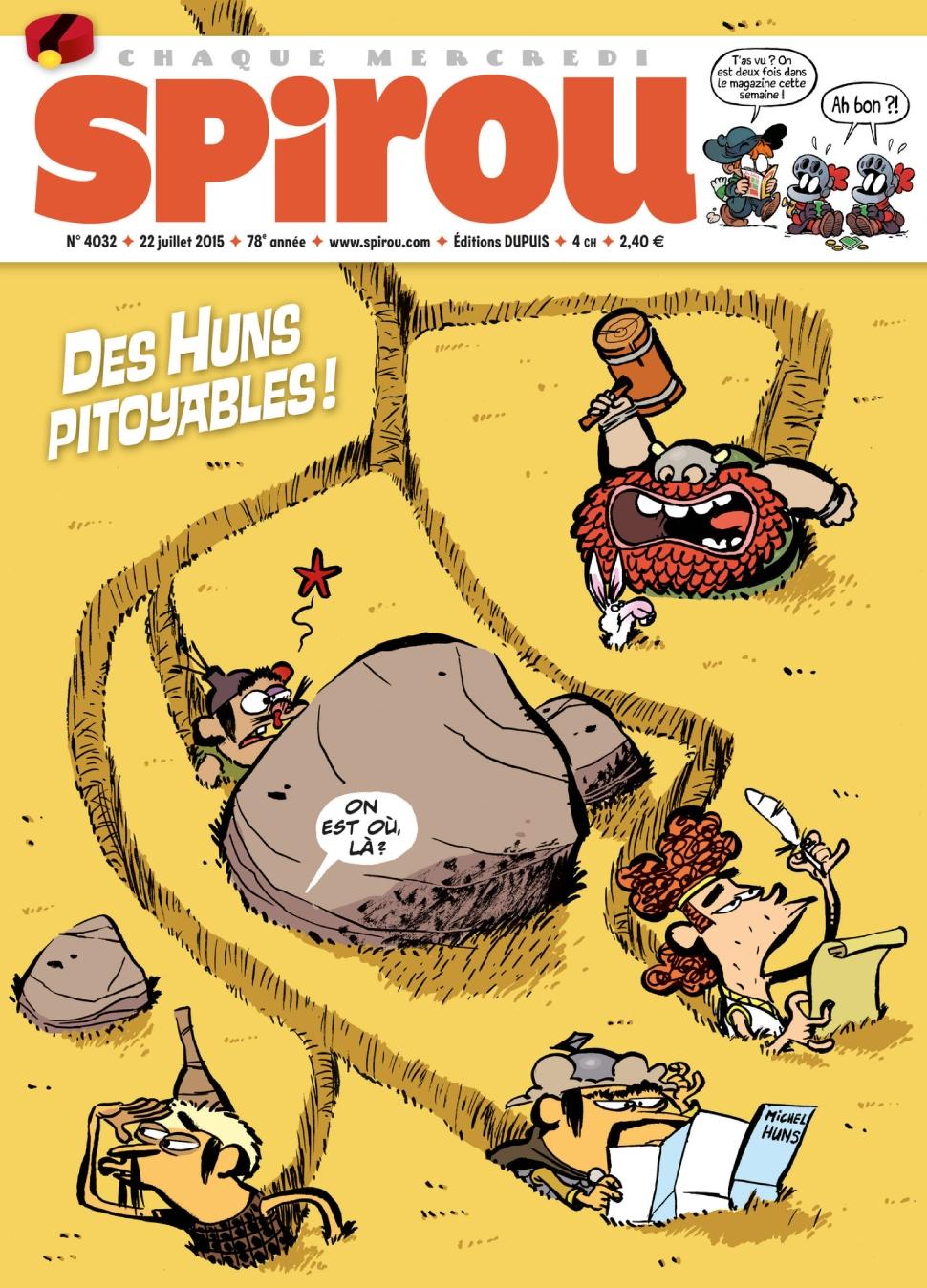 Le journal de Spirou 4032