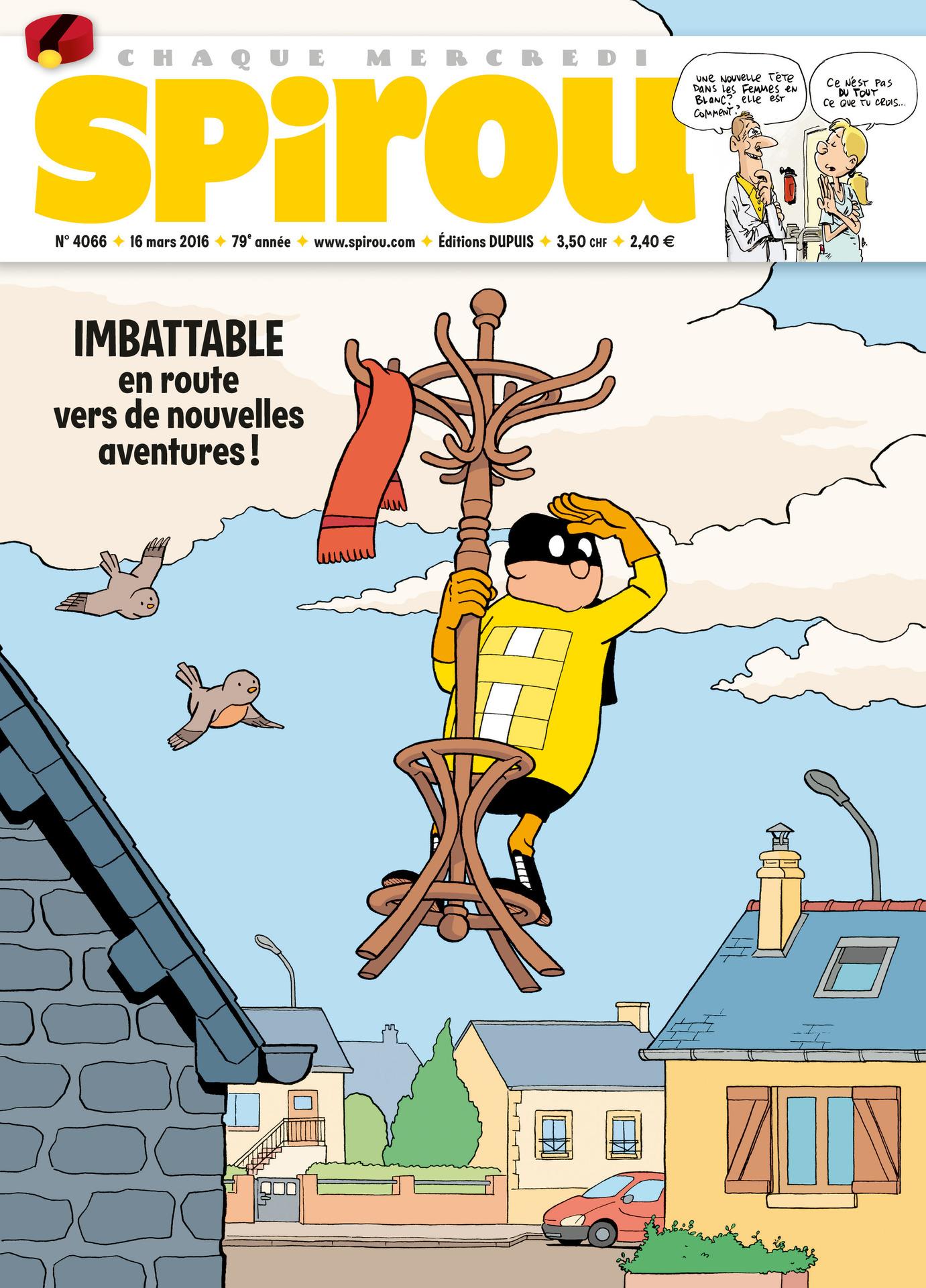 Le journal de Spirou 4066