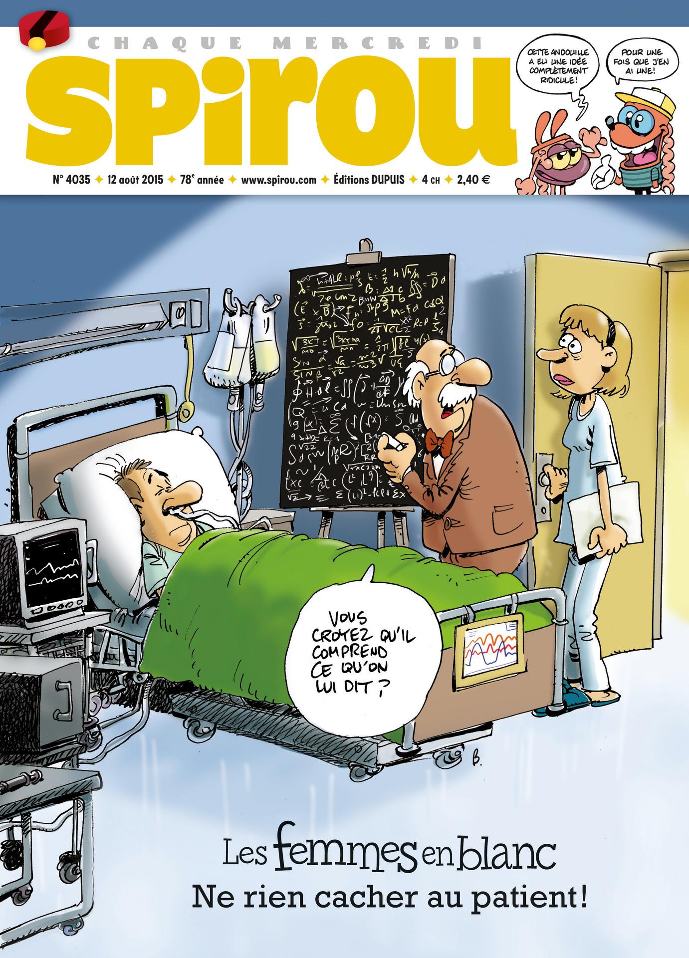 Le journal de Spirou 4035