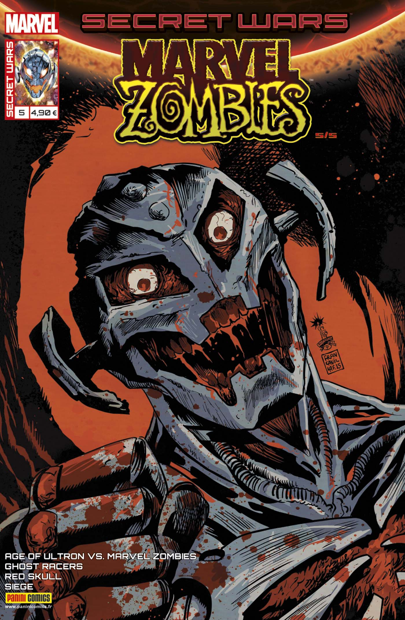 Secret Wars - Marvel Zombies 5