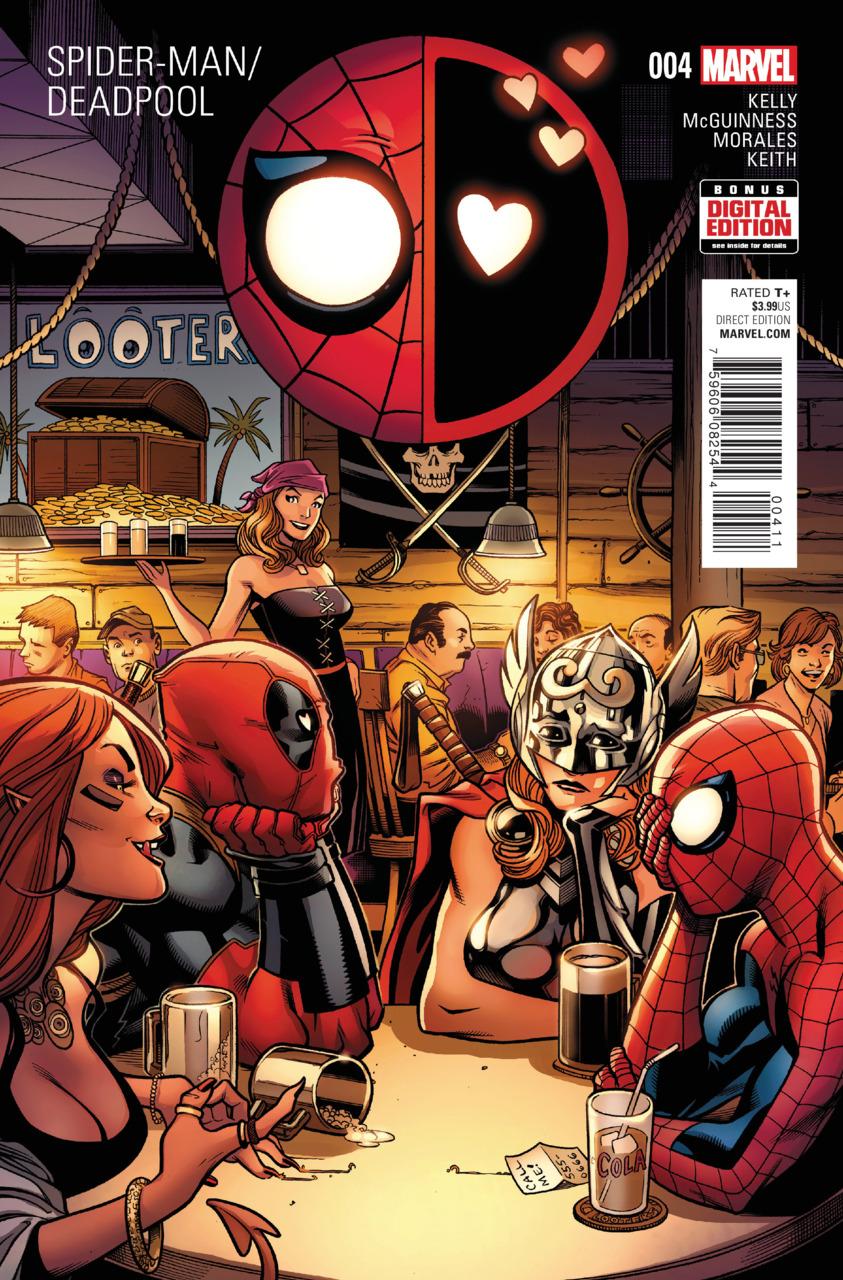 Spider-Man / Deadpool 4 - Isn't It Bromantic? Part Four