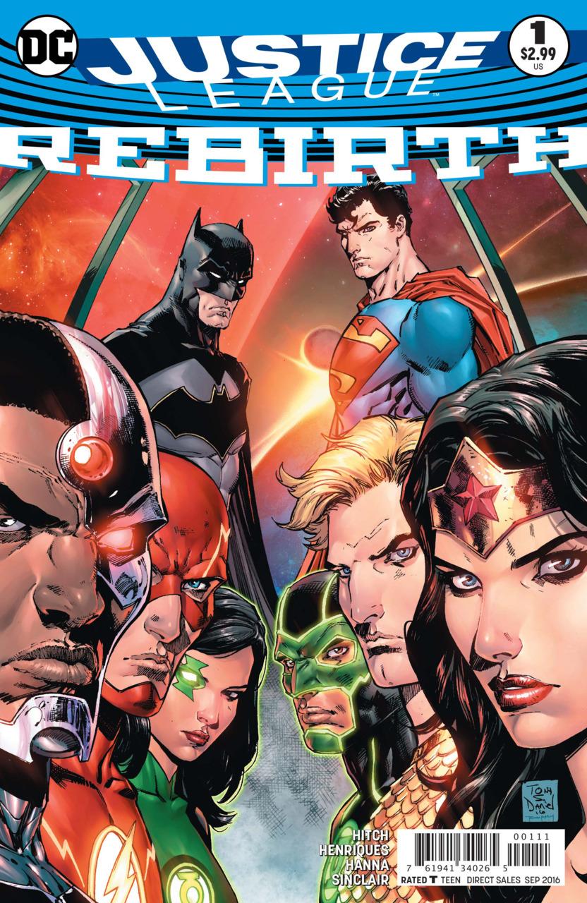 Justice League Rebirth 1 - 1 - Cover #1