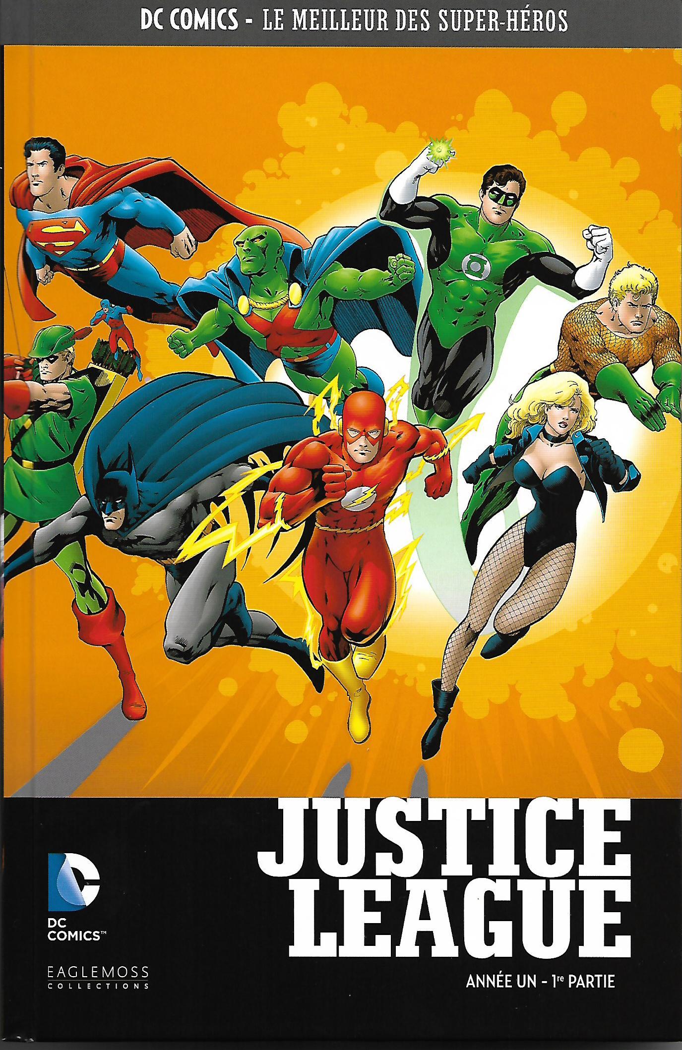 DC Comics - Le Meilleur des Super-Héros 18 - Justice League Year One 01