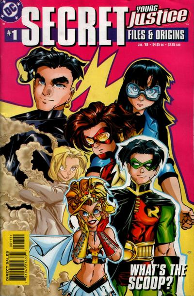 Young Justice - Secret Files and Origins 1 - Take Back the Night