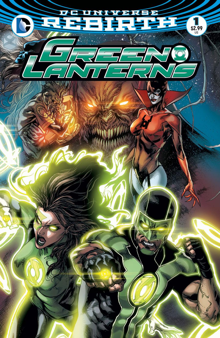 Green Lanterns 1 - Rage Planet - Chapter One