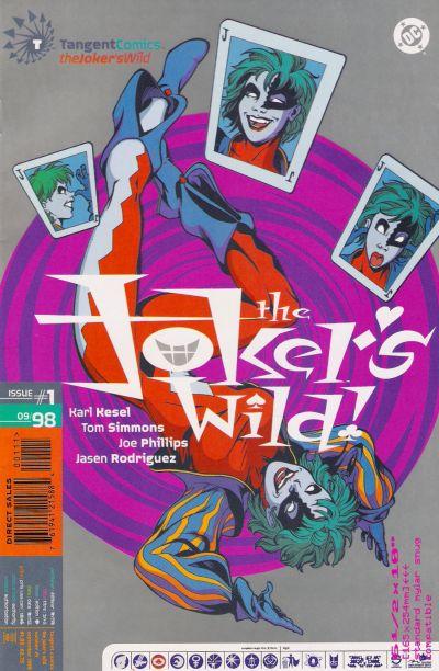 Tangent Comics / The Joker's Wild! 1 - B-B-B-Blackout!