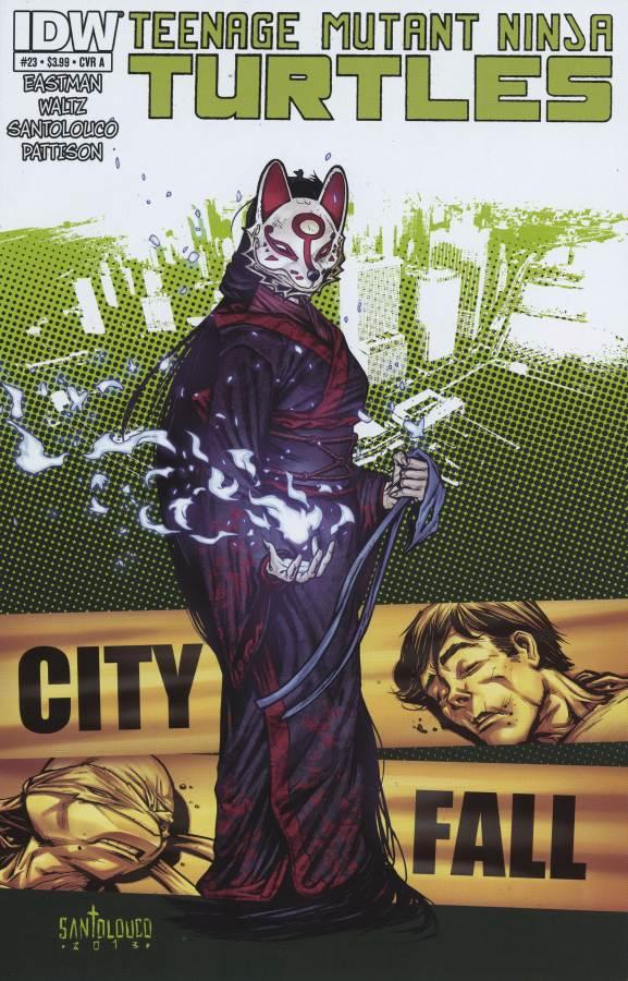 Les Tortues Ninja 23 - City Fall Part Two