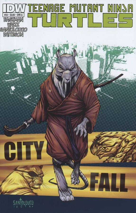 Les Tortues Ninja 24 - City Fall Part Three