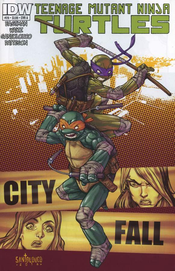 Les Tortues Ninja 26 - City Fall Part Five