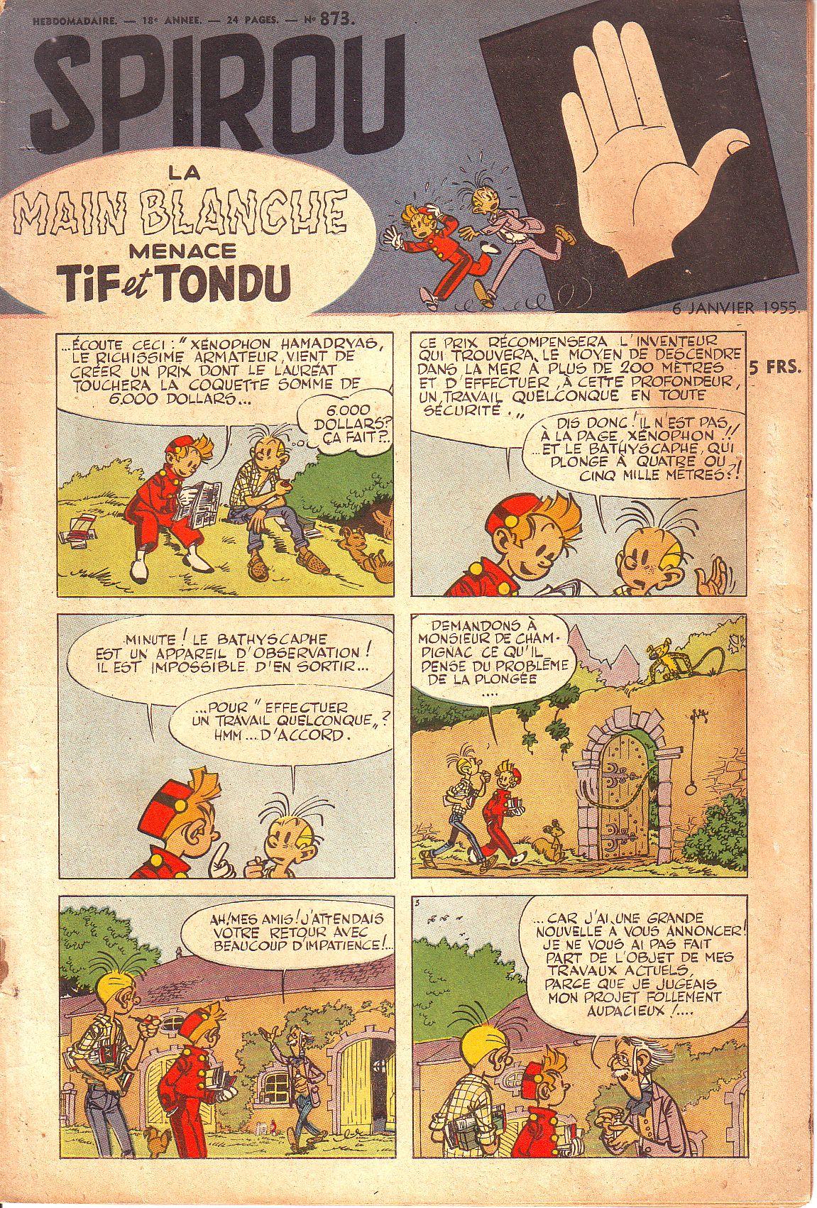 Le journal de Spirou 873