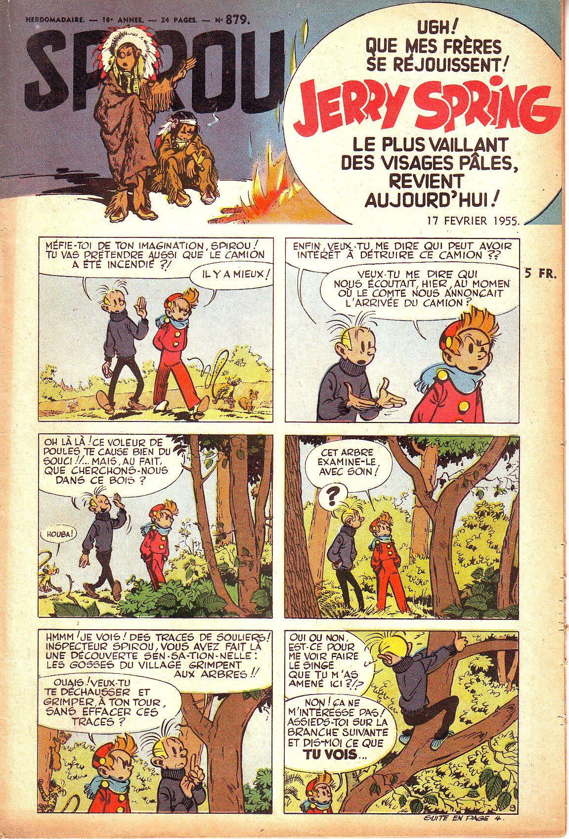Le journal de Spirou 879