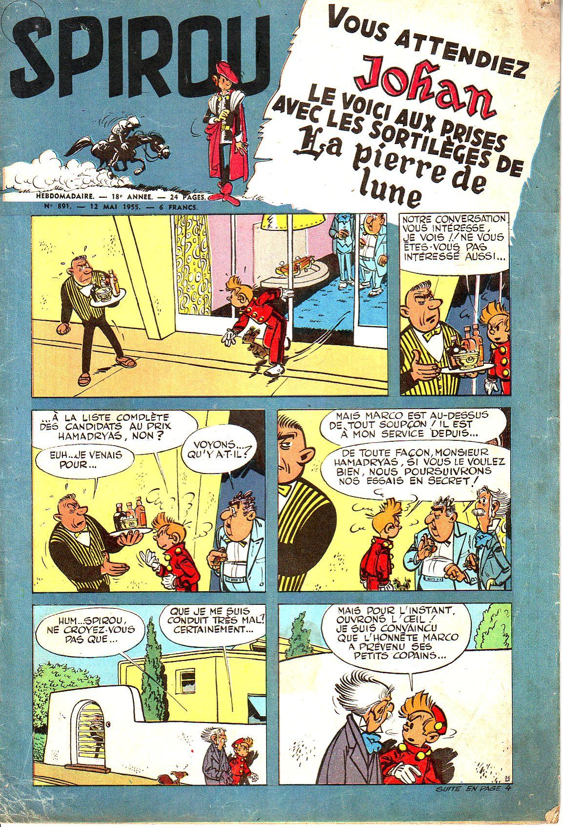 Le journal de Spirou 891