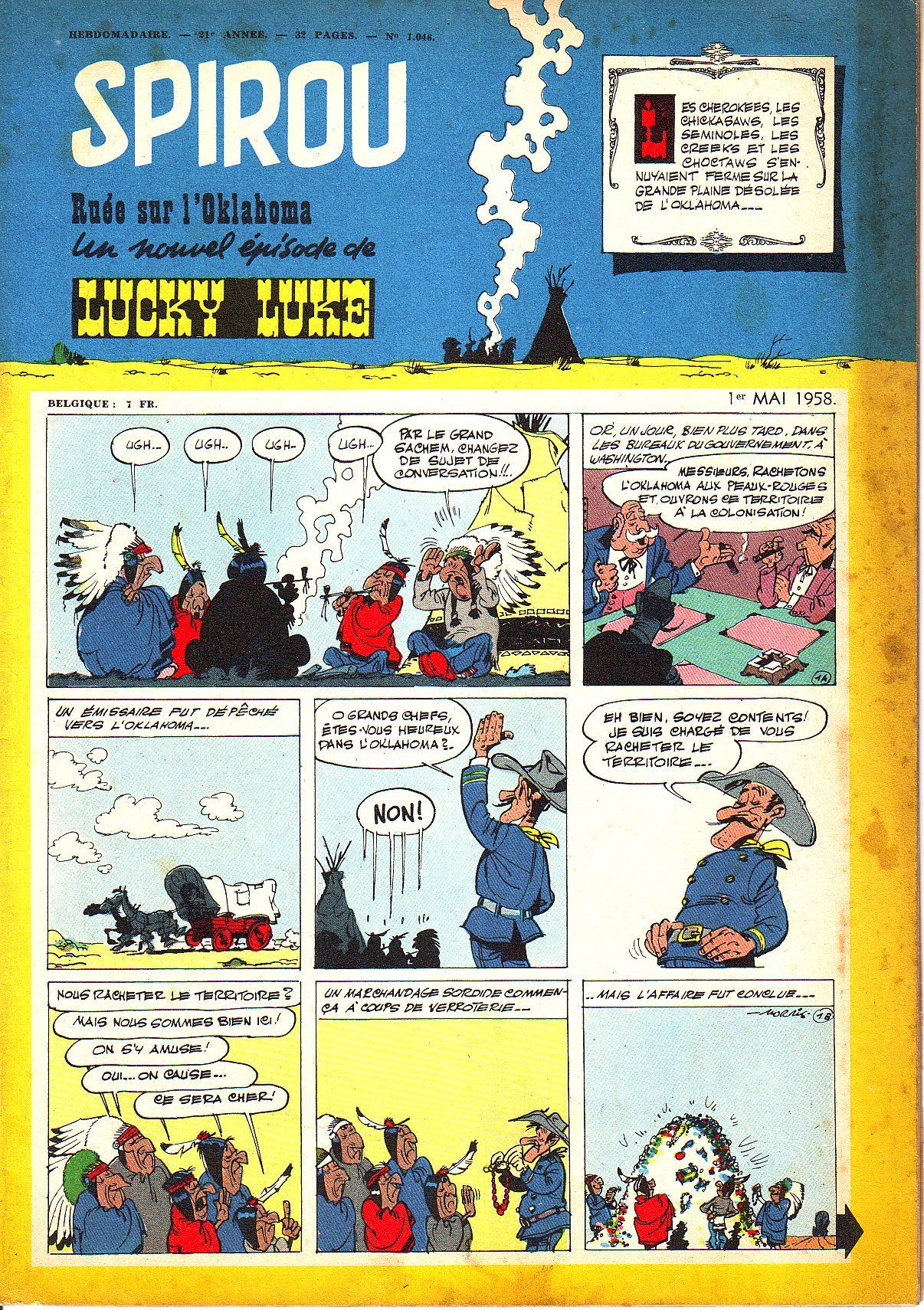 Le journal de Spirou 1046