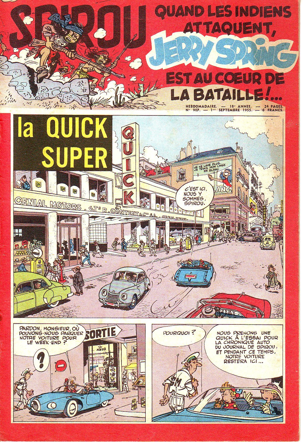Le journal de Spirou 907