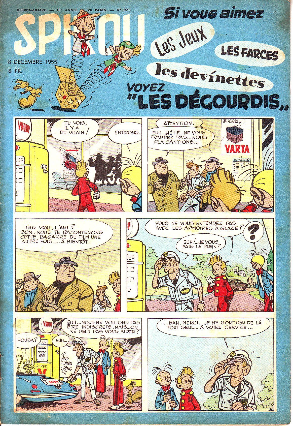 Le journal de Spirou 921