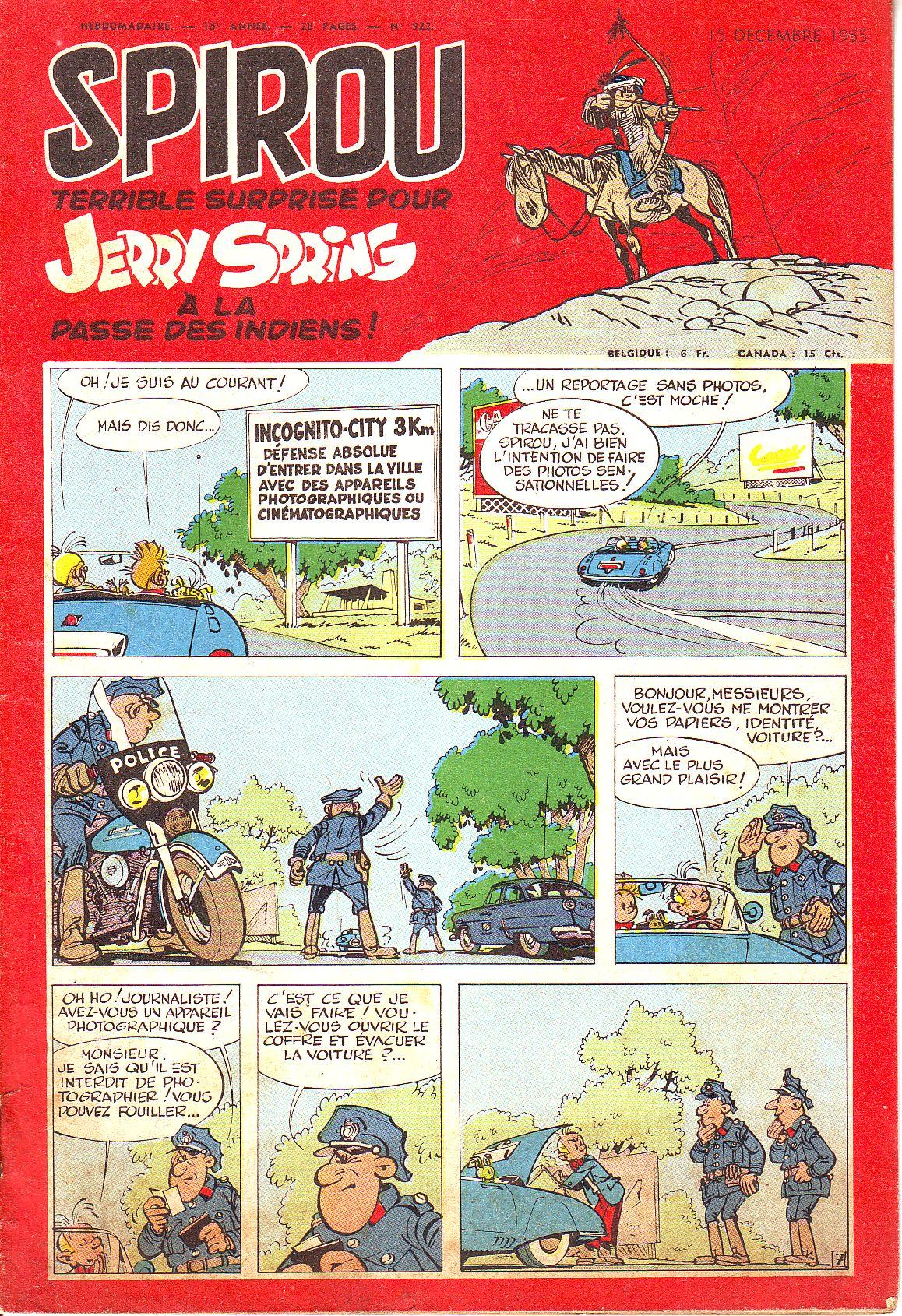 Le journal de Spirou 922