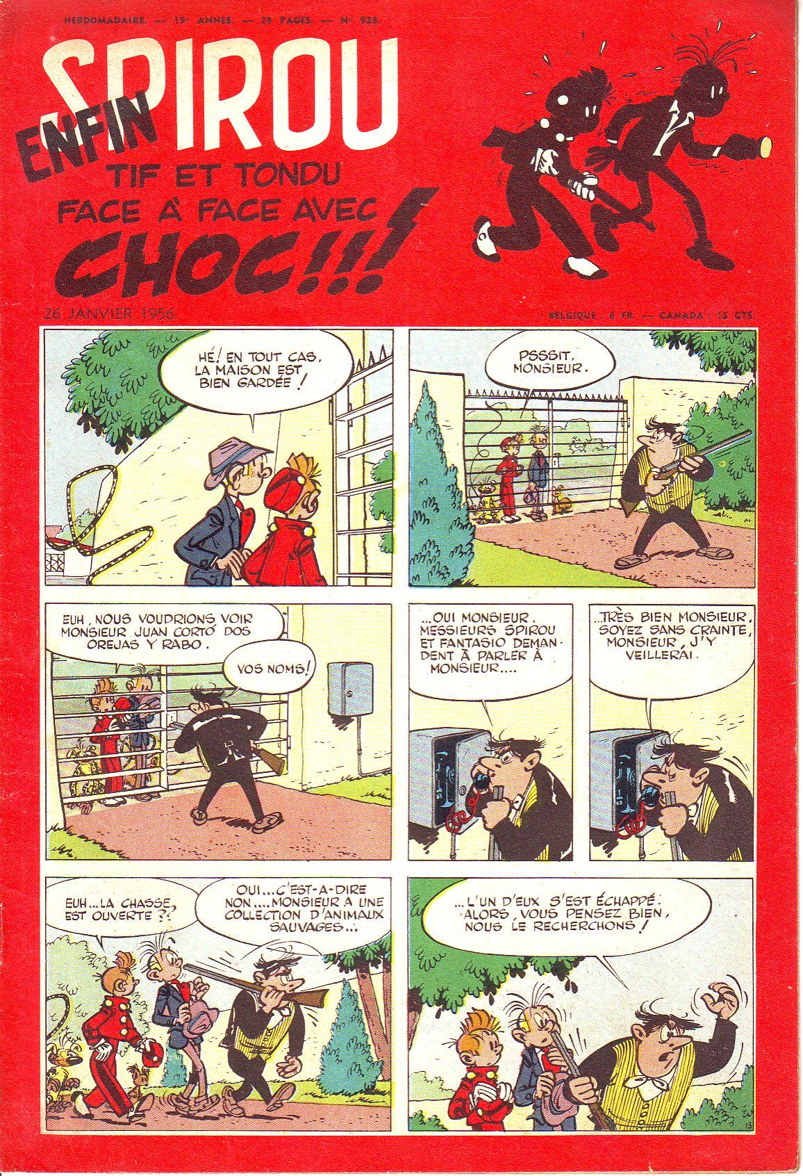 Le journal de Spirou 928