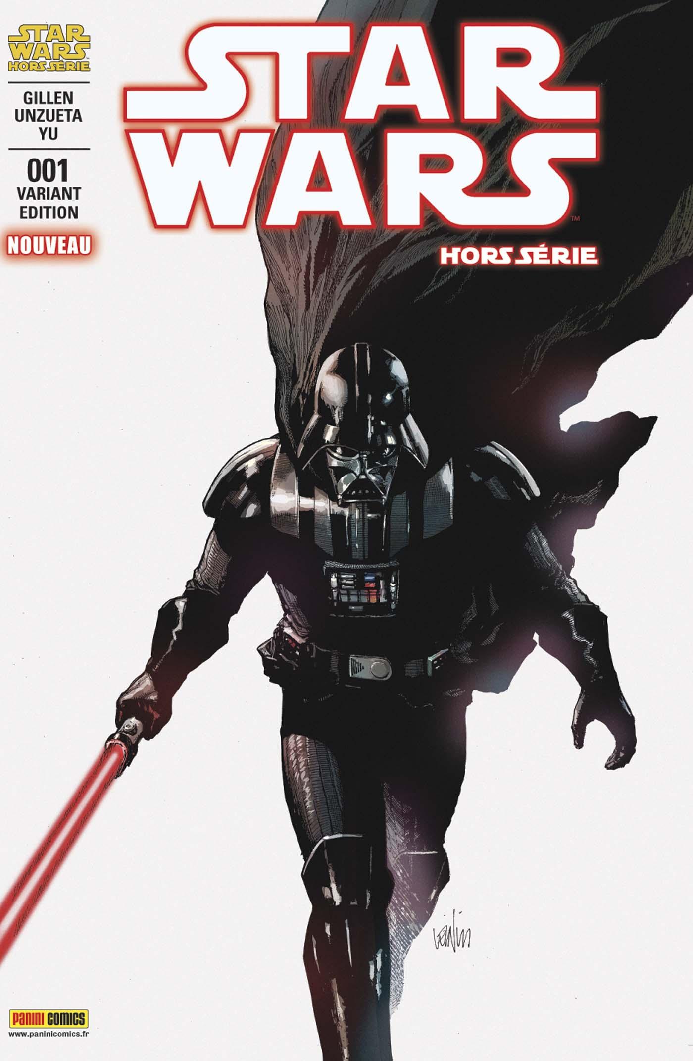 Star Wars Hors Série 1 - couverture régulière 2/2 (Leinil Yu – tirage 50%)