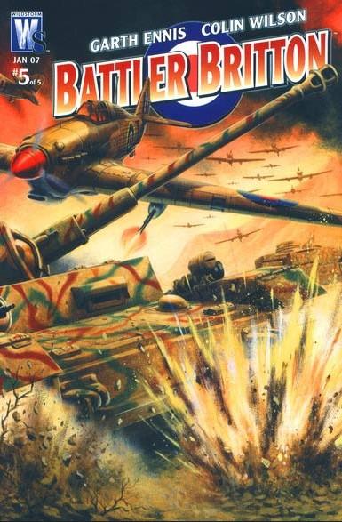Battler Britton 5 - Bloody Good Show Conclusion