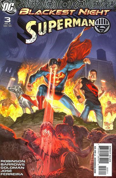 Blackest Night - Superman 3 - The Long Dark Night