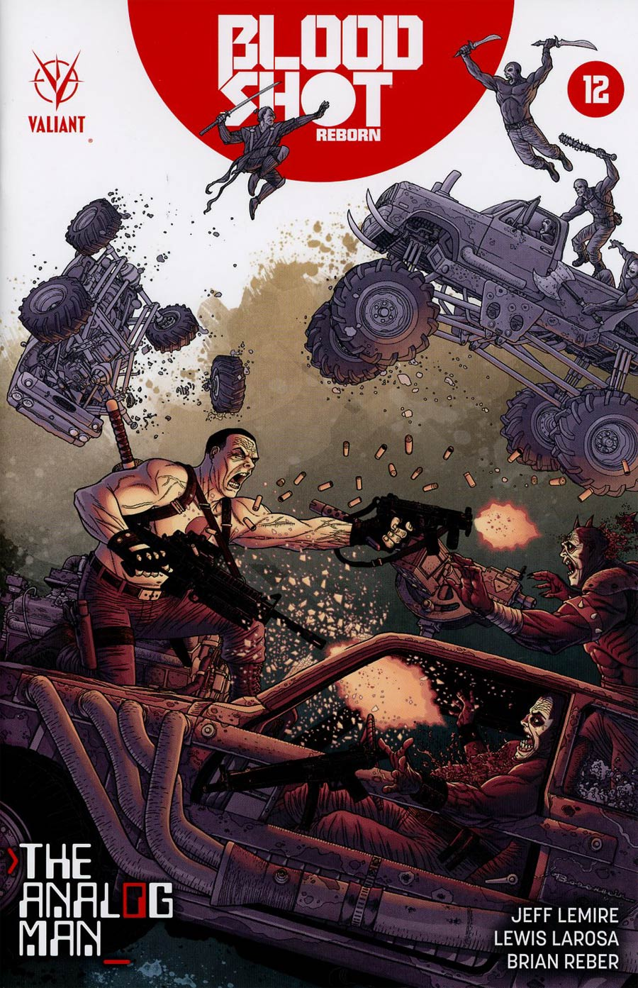 Bloodshot Reborn 12 - The Analog Man Part 3