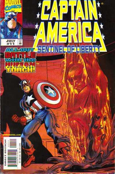Captain America - La Sentinelle de la Liberté 11 - Hello? Hello? Send Some New Linoleum