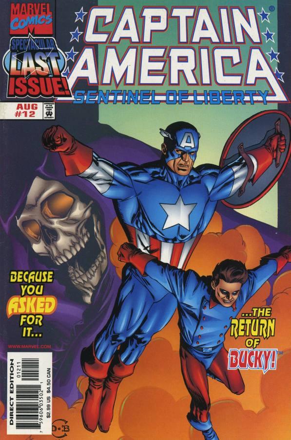 Captain America - La Sentinelle de la Liberté 12 - Brothers in Arms