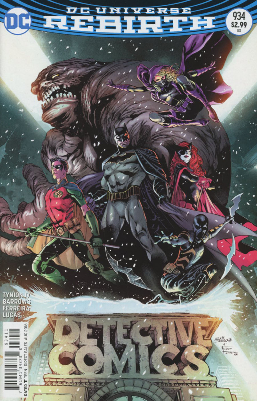 Batman - Detective Comics 934 - Rise of the Batmen Part 1: The Young and the Brave