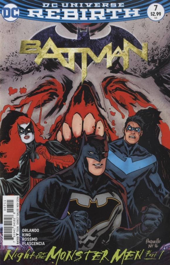 Batman 7 - Night of the Monster Men - part 1