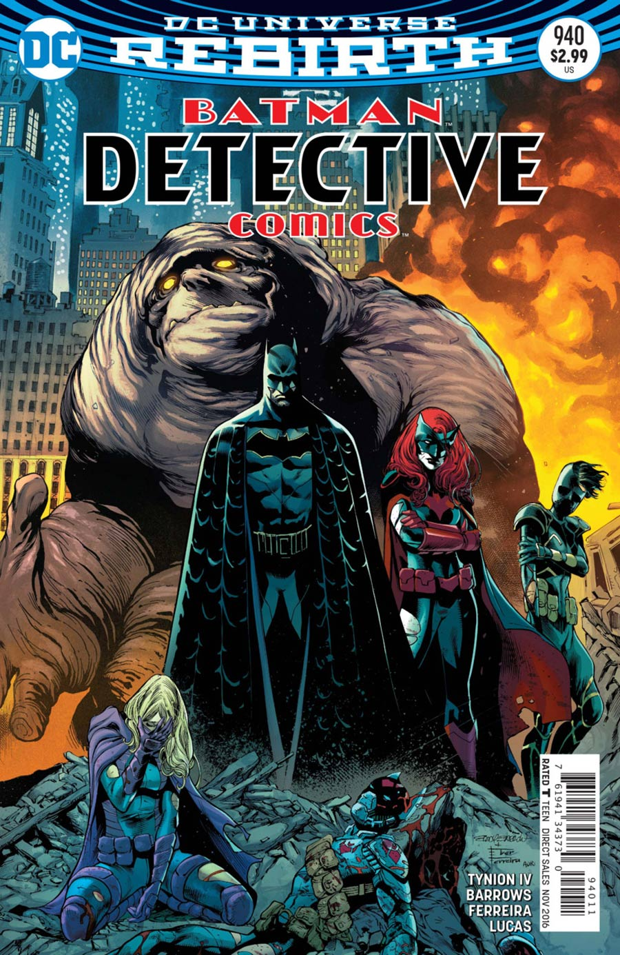 Batman - Detective Comics 940 - Rise of the Batmen: The Red Badge of Courage