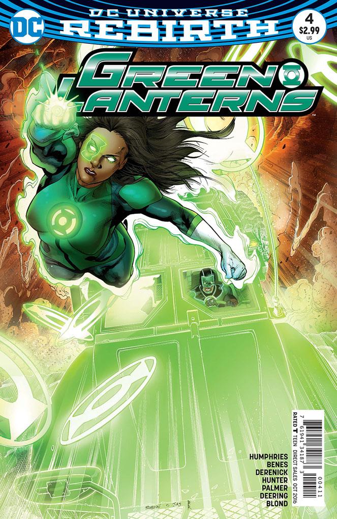 Green Lanterns 4 - Rage Planet - Part Four