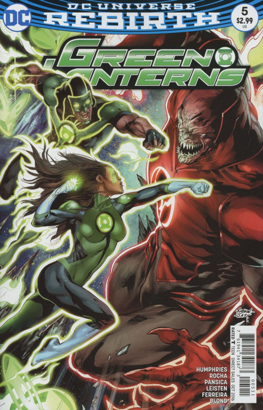Green Lanterns 5 - Rage Planet - Part Five