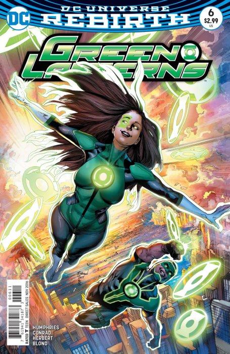 Green Lanterns 6 - Rage Planet - Part Six: Family Dinner