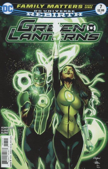Green Lanterns 7 - Family Matters Part One: Kitchen Nightmares