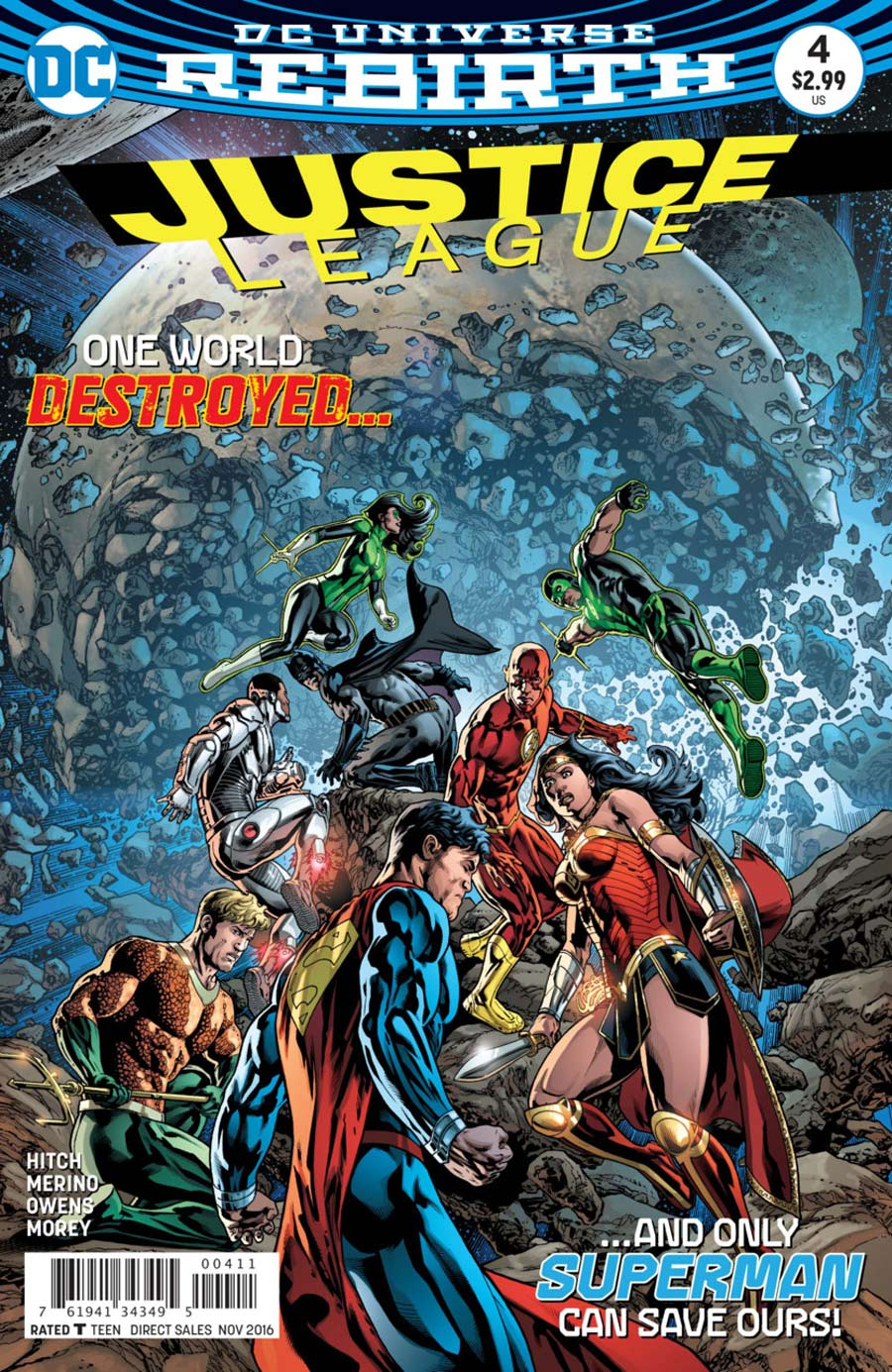 Justice League 4 - 4 - cover #1