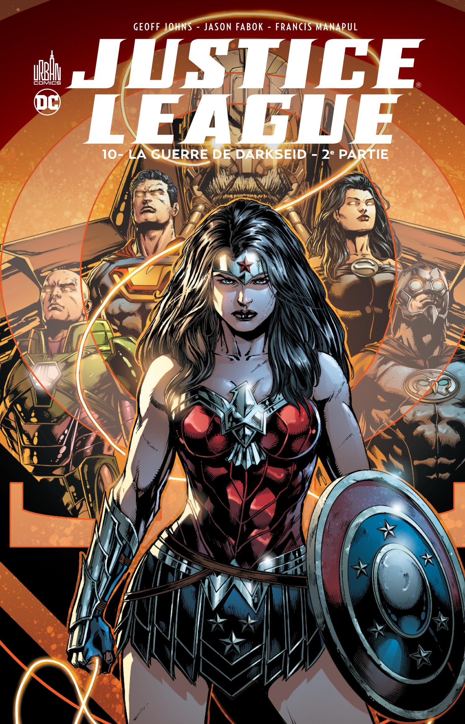 Justice League 10 - La guerre de Darkseid - 2ème partie