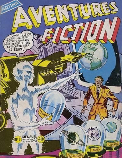 Aventures Fiction 1 - L'homme qui collectionnait les planètes