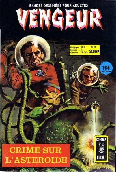 Vengeur 11 - Crime sur l'astéroïde