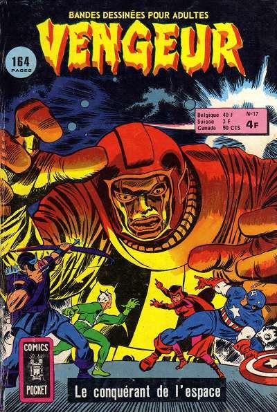 Vengeur 17 - Le conquérant de l'espace