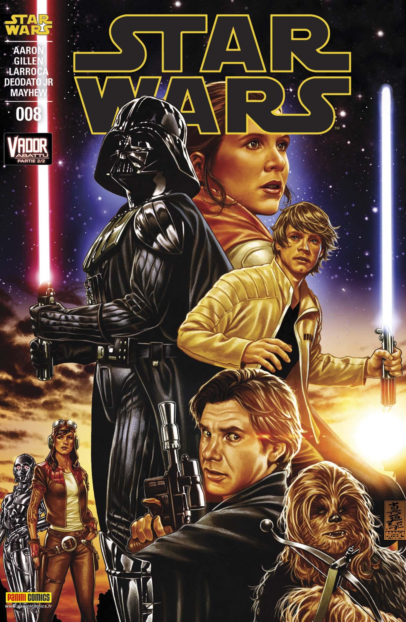 Star Wars 8 - Couverture 1/2 (Mark Brooks – tirage 50%)