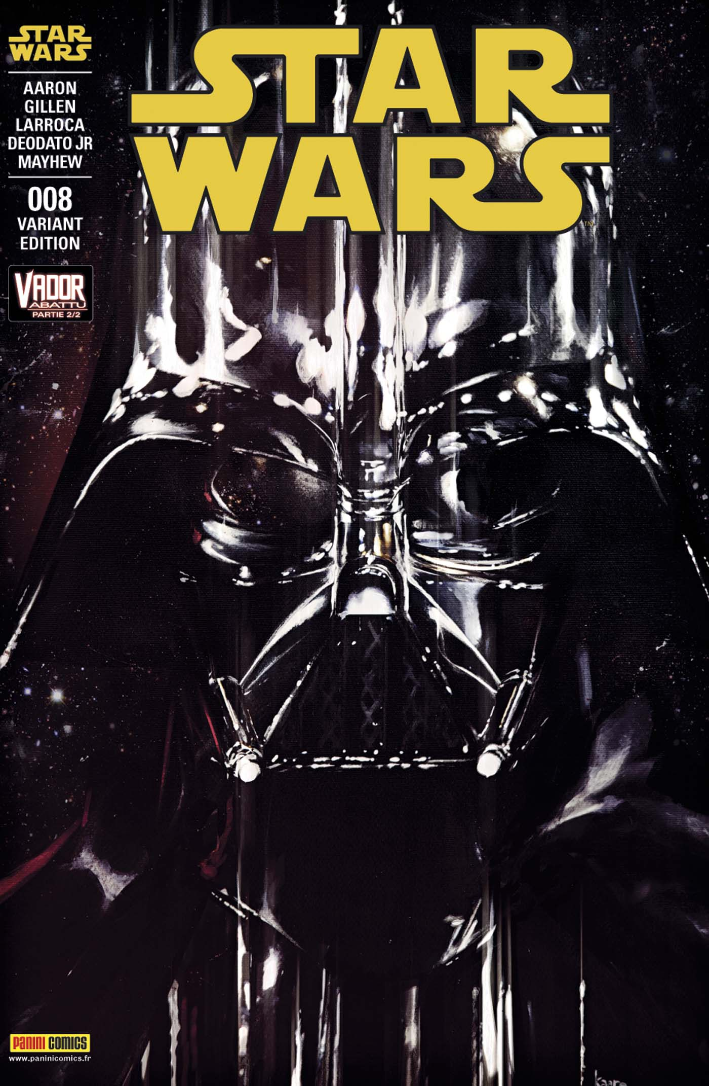 Star Wars 8 - Couverture 2/2 (Kaare Andrews – tirage 50%)