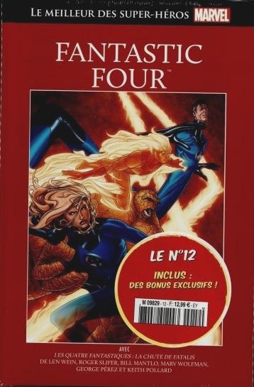 Le Meilleur des Super-Héros Marvel 12 - Fantastic Four