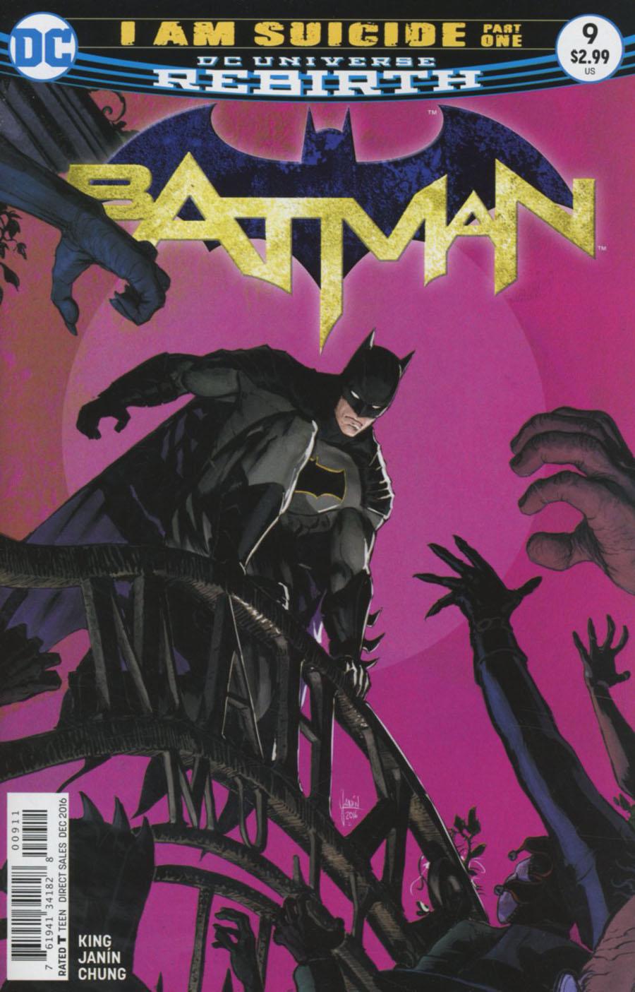 Batman 9 - I Am Suicide - part one