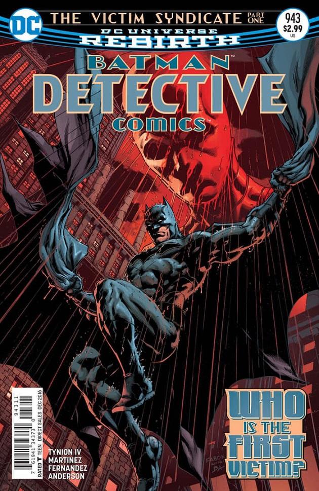 Batman - Detective Comics 943 - The Victim Syndicate - part one