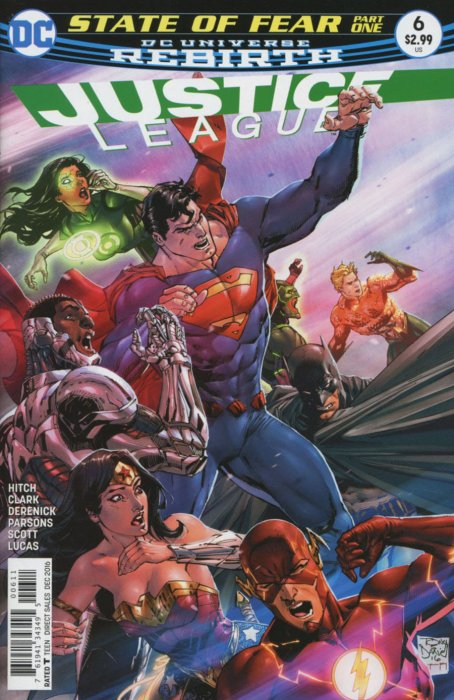 Justice League 6 - 6 - cover #1