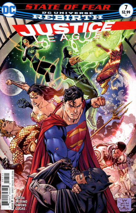 Justice League 7 - 7 - cover #1