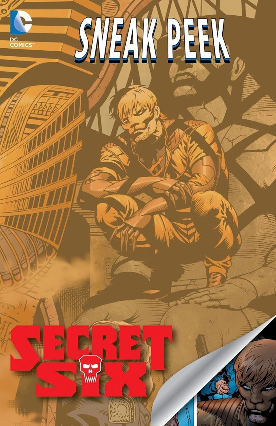 DC Sneak Peek - Secret Six 1 - The Eternity Gem
